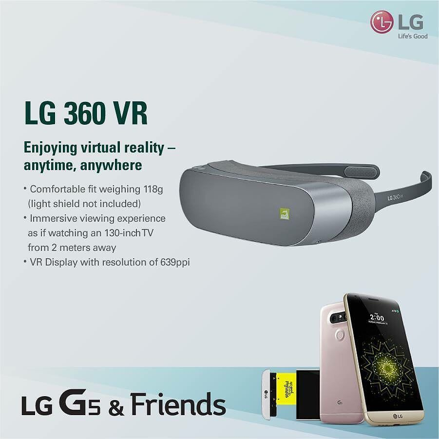 An awesome Virtual Reality pic! نظارة LG 360 VRمتعة مشاهدة افتراضية في أي وقت وأي مكان.  LG 360 VR Enjoying virtual reality-anytime anywhere  #LG #LGLevant #Jordan #Syria #Lebanon #Iraq #Kurdistan #New #Smatphone #LGG5 #G5andFriends #LG360VR #Enjoy #VirtualReality #LifeIsGoodWhenYouPlayMore by lglevant check us out: http://bit.ly/1KyLetq
