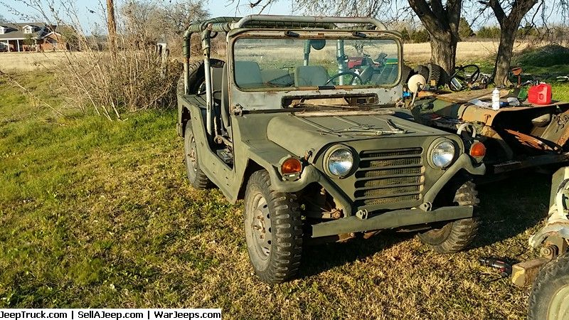 Military Jeeps For Sale and Military Jeep Parts For Sale - M151A2 #2