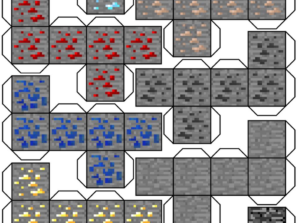 Dibujos De Minecraft Para Armar E Imprimir