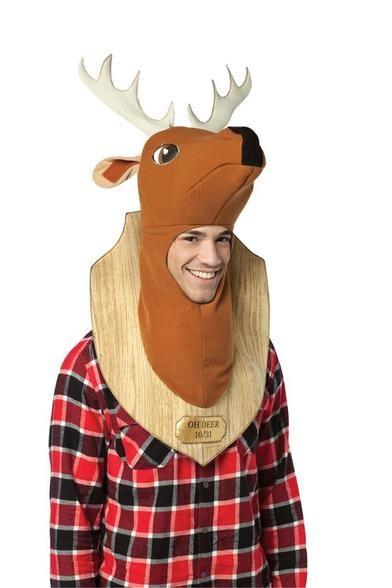 97ecc6b43bf Trophy Head Deer Halloween Hats