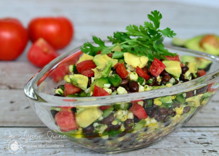 Avocado Bean Salad Recipe: the Perfect Summer Potluck Dish!