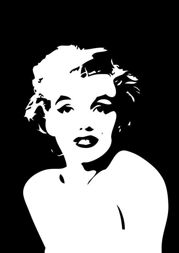 Marilyn Monroe Art Poster Print fits IKEA RIBBA by HadasBosi, ₪90.00 ...