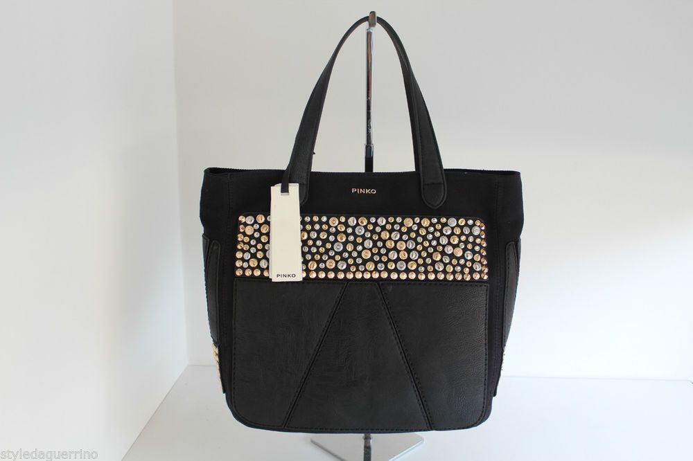 Shopping Style Guerrino Negozio Bag Pinko Tibullo Nerodisponibile rBoedCxW