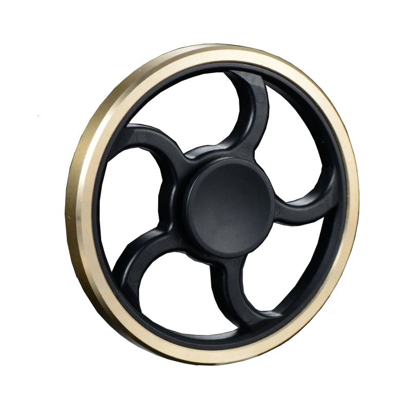 Image result for A circle black and gold Fid Spinner