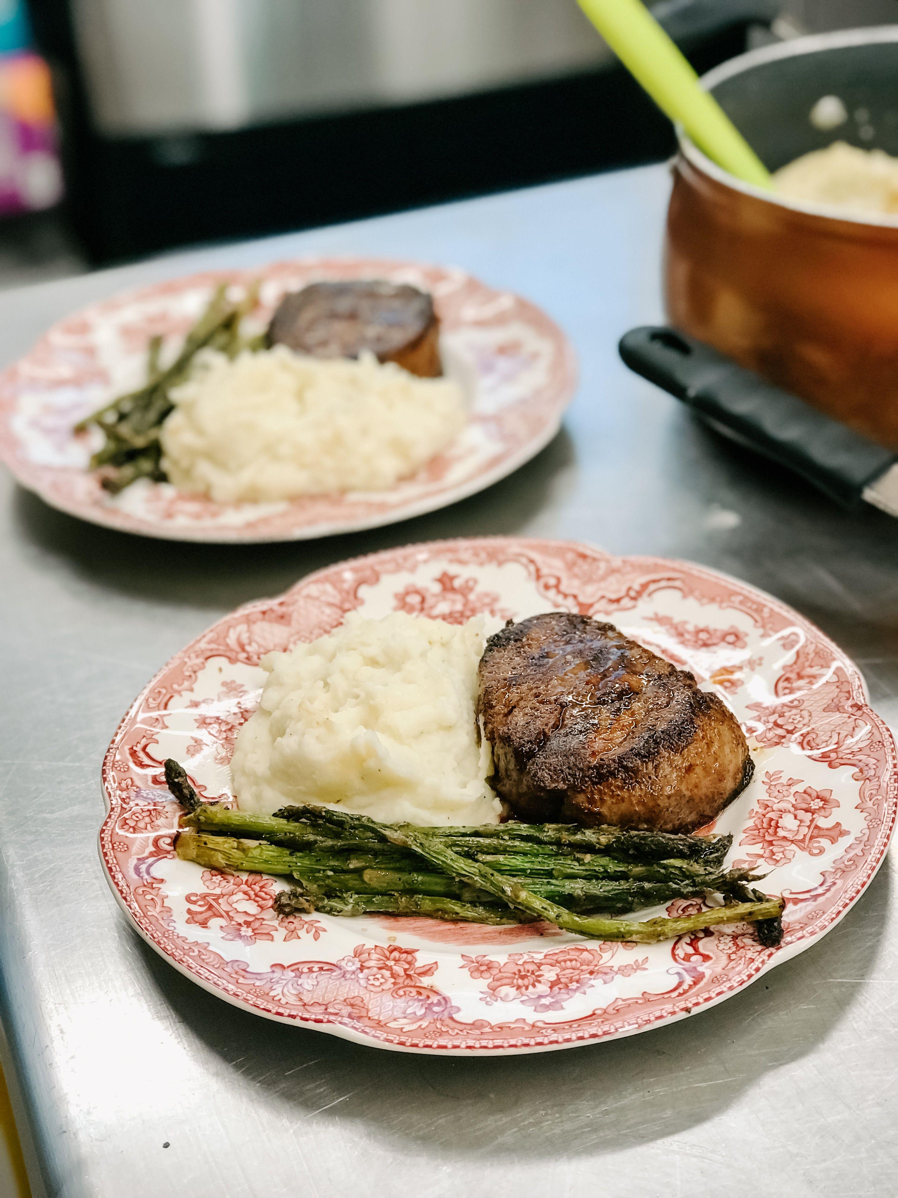 Filet Mignon at Ashford Acres Inn Gourmet breakfast