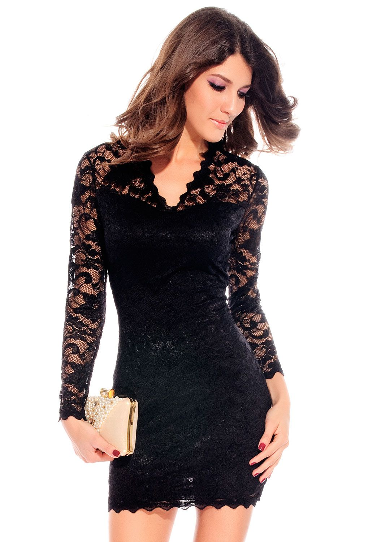 142ef8b969f4 vestidos fiesta negro cortos | La moda a través del tiempo ...