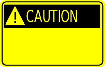 Caution Sign W Exclamation Jpg Clip Art Library Clip Art Free Clip Art Road Work Sign
