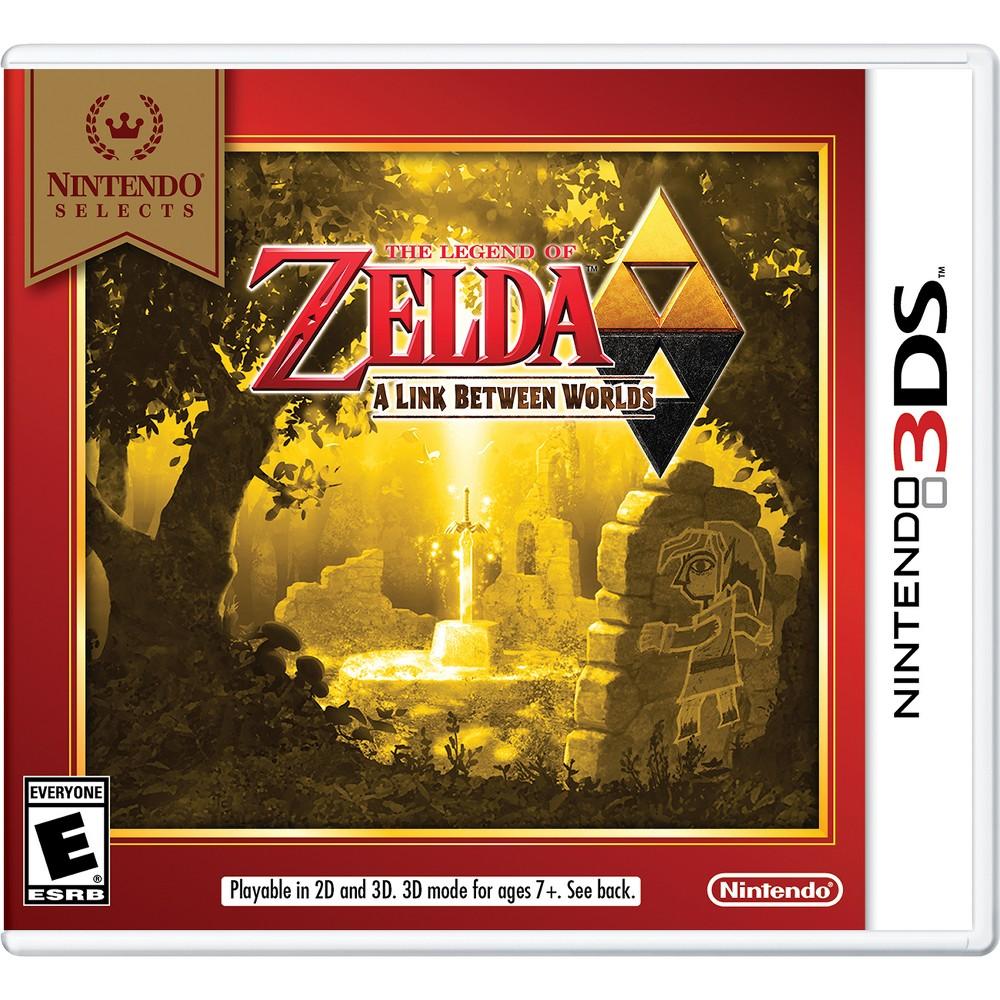Nintendo Selects The Legend Of Zelda A Link Between Worlds Nintendo 3ds Legend Of Zelda Nintendo 3ds Games Nintendo 3ds