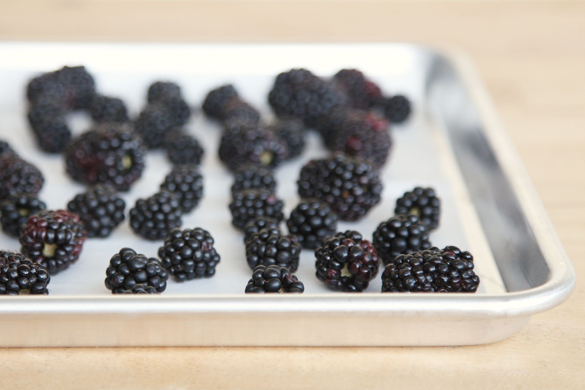 A better way to freeze berries for smoothies jam muffins
