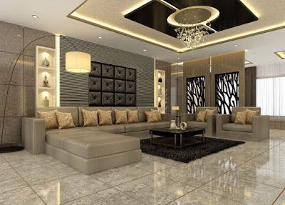 Best wall niches designs with indirect lighting for living rooms also modern pop arch ideas room interior rh pinterest