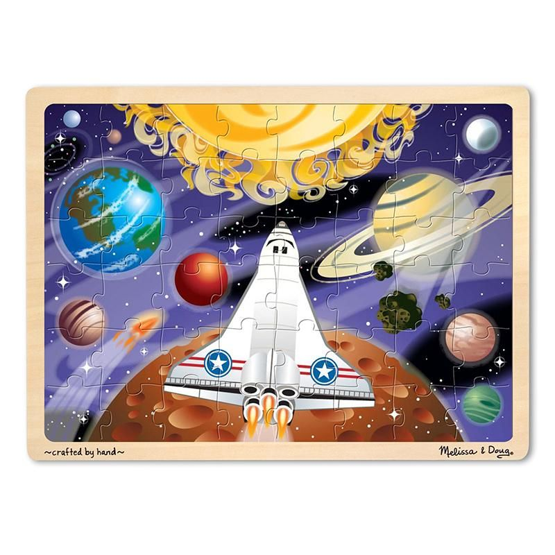 4d Puzzle Astronaut Kids Fun Themes With Fewer Pieces