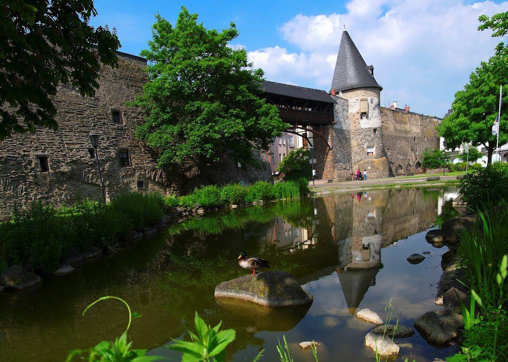 Photo Of Blick Auf Stadtmauer In Richtung Helmwartsturm Photo Germany Lake