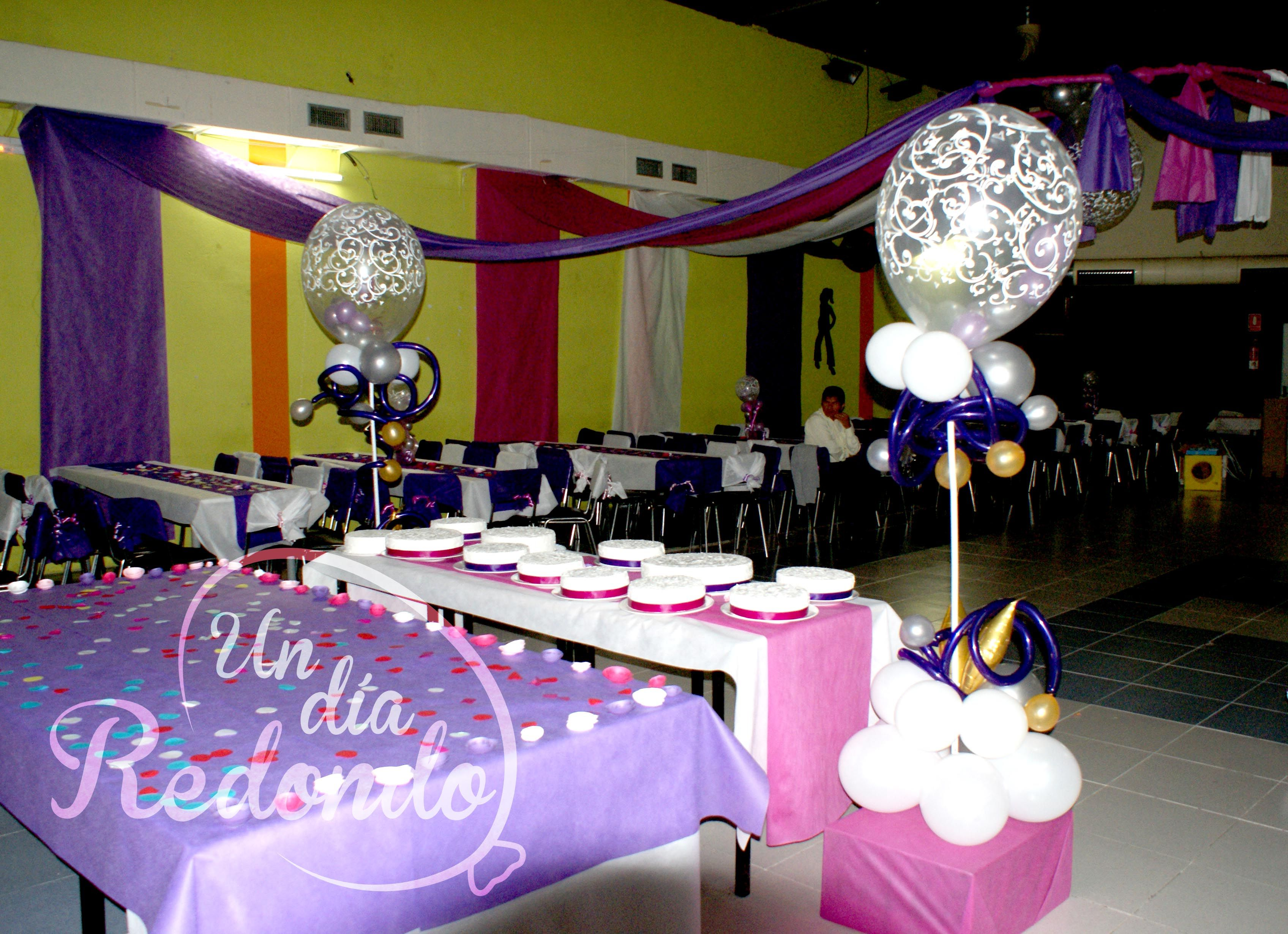 Decoraci n de cumplea os con globos decoraci d - Decoracion con globos para cumpleanos ...