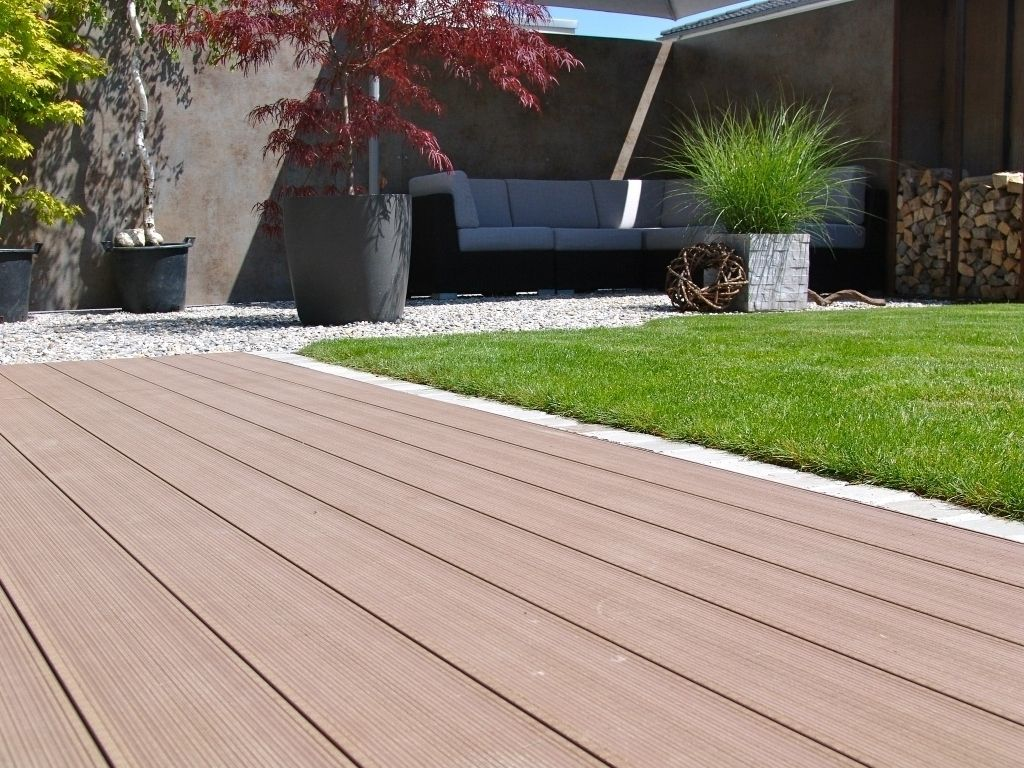 Composite Ground Decorative Veneer Composite Flooring Flooring Deck