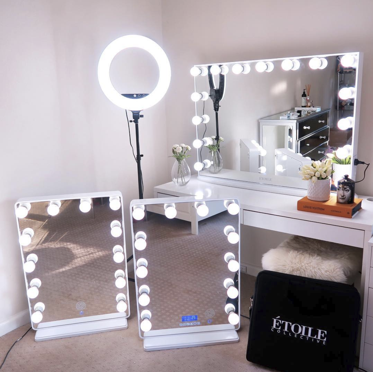 Hollywood Classic XL Vanity Mirror in 2020 Mirrored
