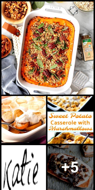 Sweet Potato Casserole Recipe - Love and Lemons #sweetpotatocasserole