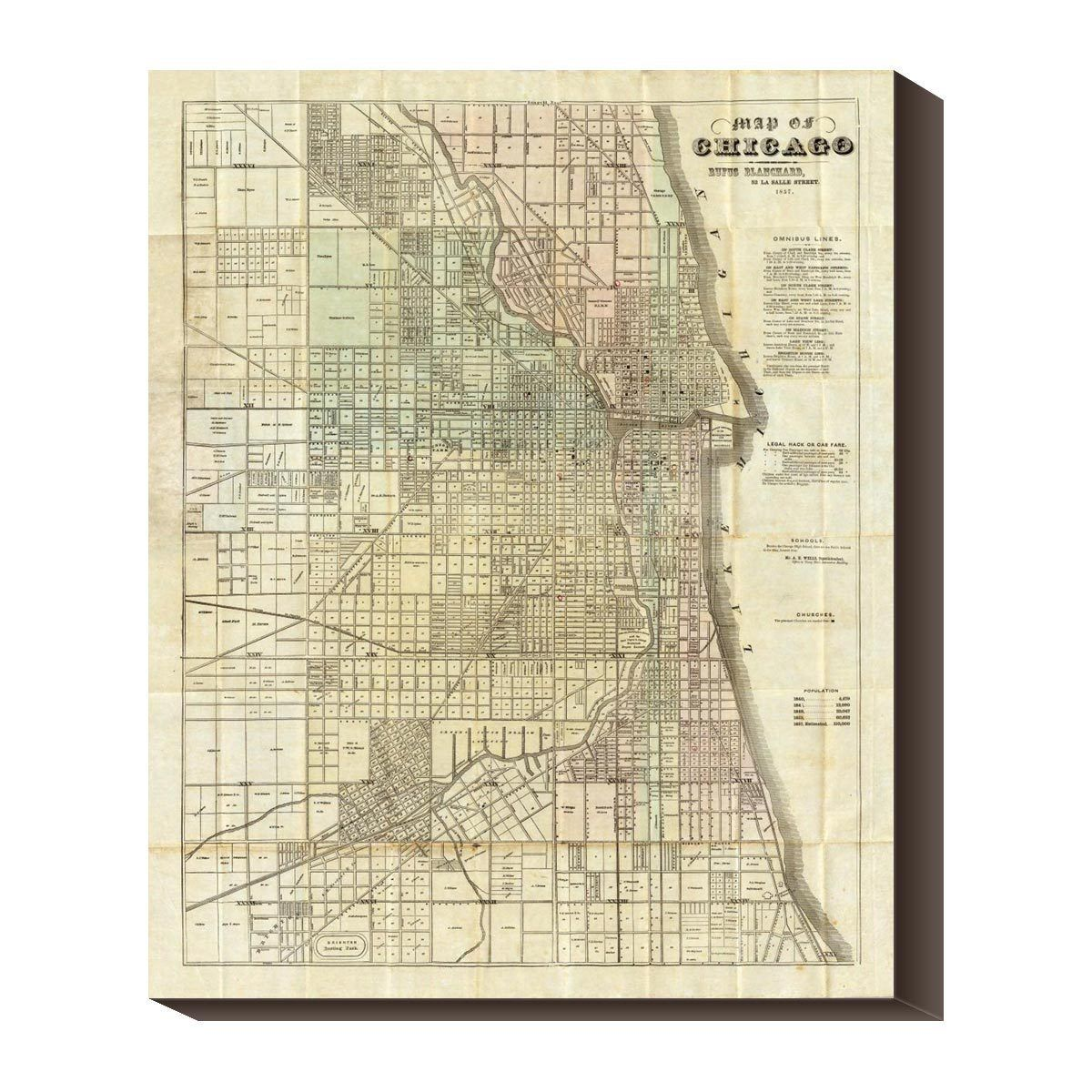 Neat Historic Chicago Map Prefire The Chicagoan Pinterest - Chicago fire map