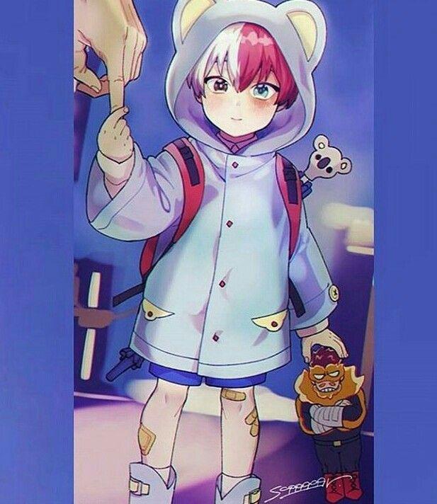 Todoroki Shouto Baby My Hero My Hero Academia Anime Child