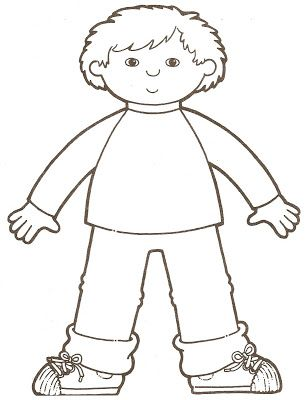 33++ I have a body coloring page free download
