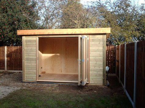 Contemporary Garden Shed Backyard sheds, Contemporary