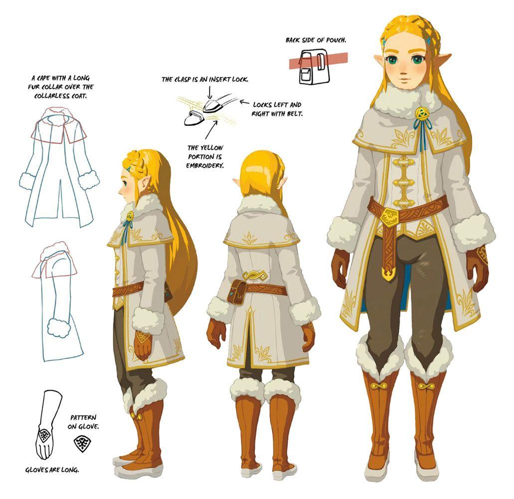 Princess Zelda Cold Set Art The Legend Of Zelda Breath Of The Wild Art Gallery Zelda Breath Legend Of Zelda Breath Princess Zelda