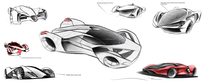 Ferrari F80 Un Magnifique Concept Tout En Finesse By Adriano 8