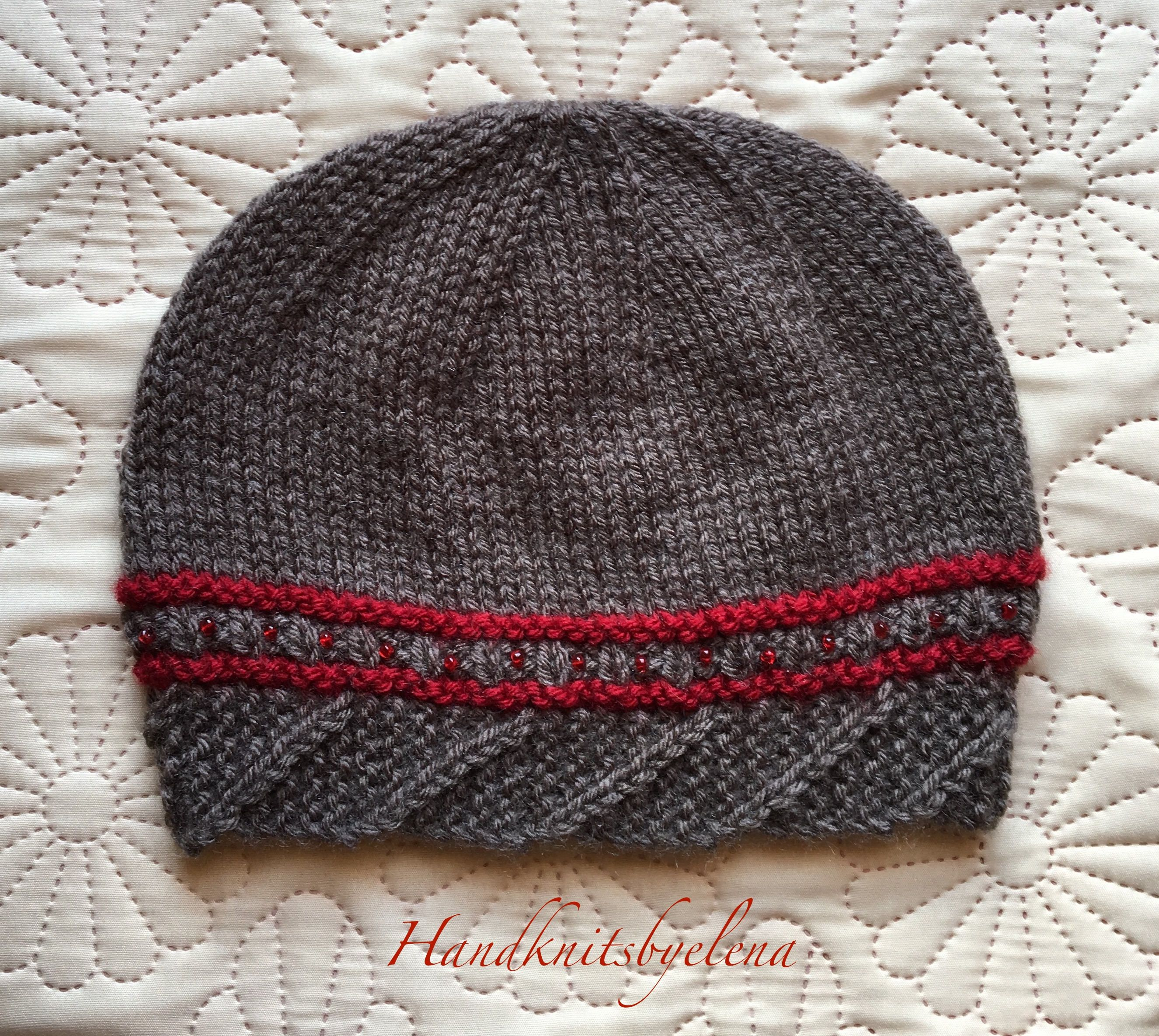 66176376f45 Instant Download Knitting Pattern Hat