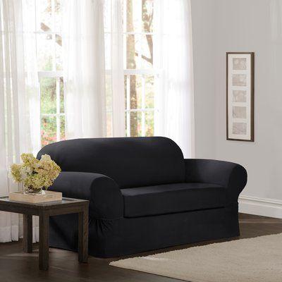 Red Barrel Studio Separate Seat Box Cushion Loveseat ...