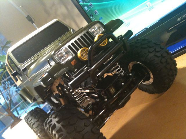 happy 45 jeep | Tamiya Jeep Wrangler CR-01! | itcrashed
