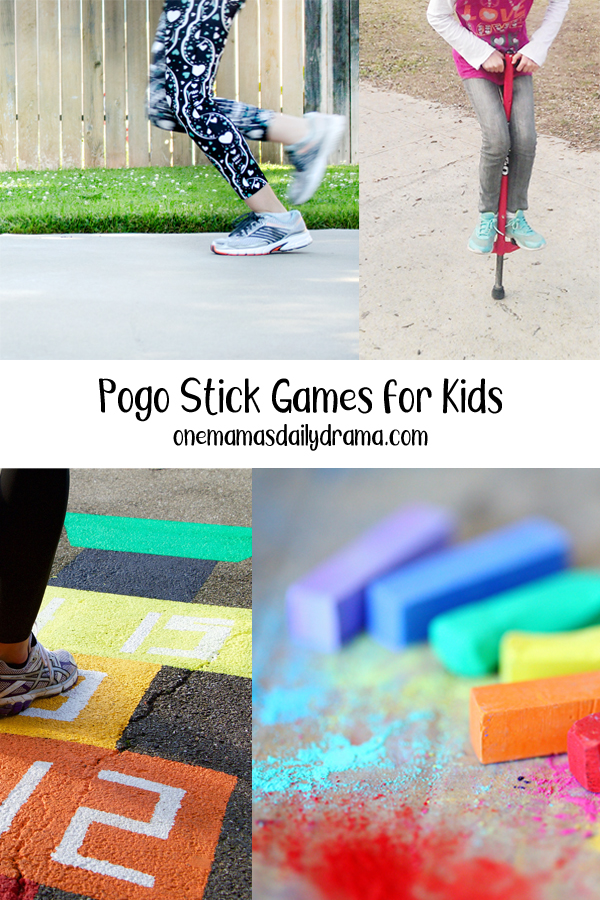 Pogo Stick Games for Kids to Play Outdoors in 2021 | Pogo ...