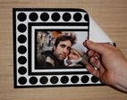 Stickr Frames - Hang Photos Without Hooks or Hammers - Black