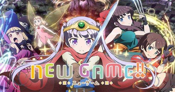 New Game!! | Anime WEB HEVC x265 Complete | News games, Games, Anime