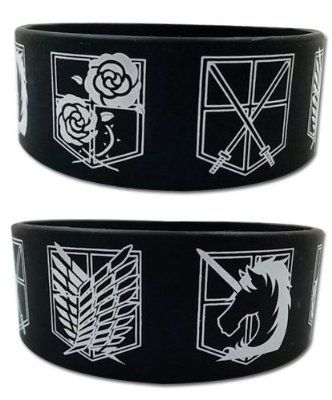 Attack On Titan wristband