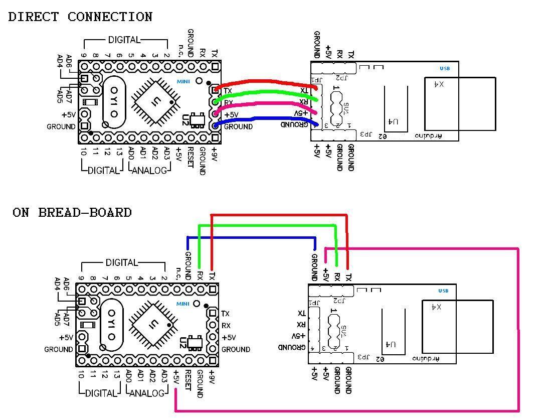 program arduino pro mini Arduino, Usb, Diagram