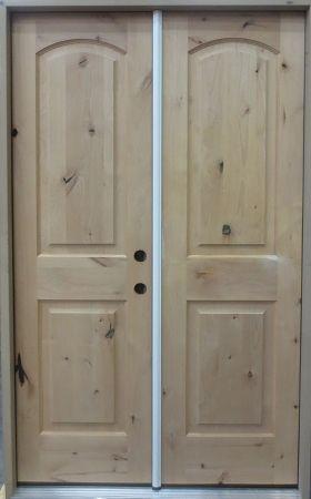 4 2 X 6 8 2 Panel Knotty Alder Exterior Door Prehung Mahogany Exterior Doors Exterior Doors Exterior Door Handles