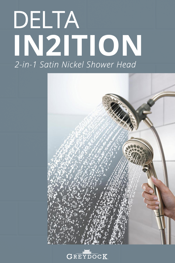 Delta Faucet 75583sn In2ition 5 Function Handheld Dual Shower Head