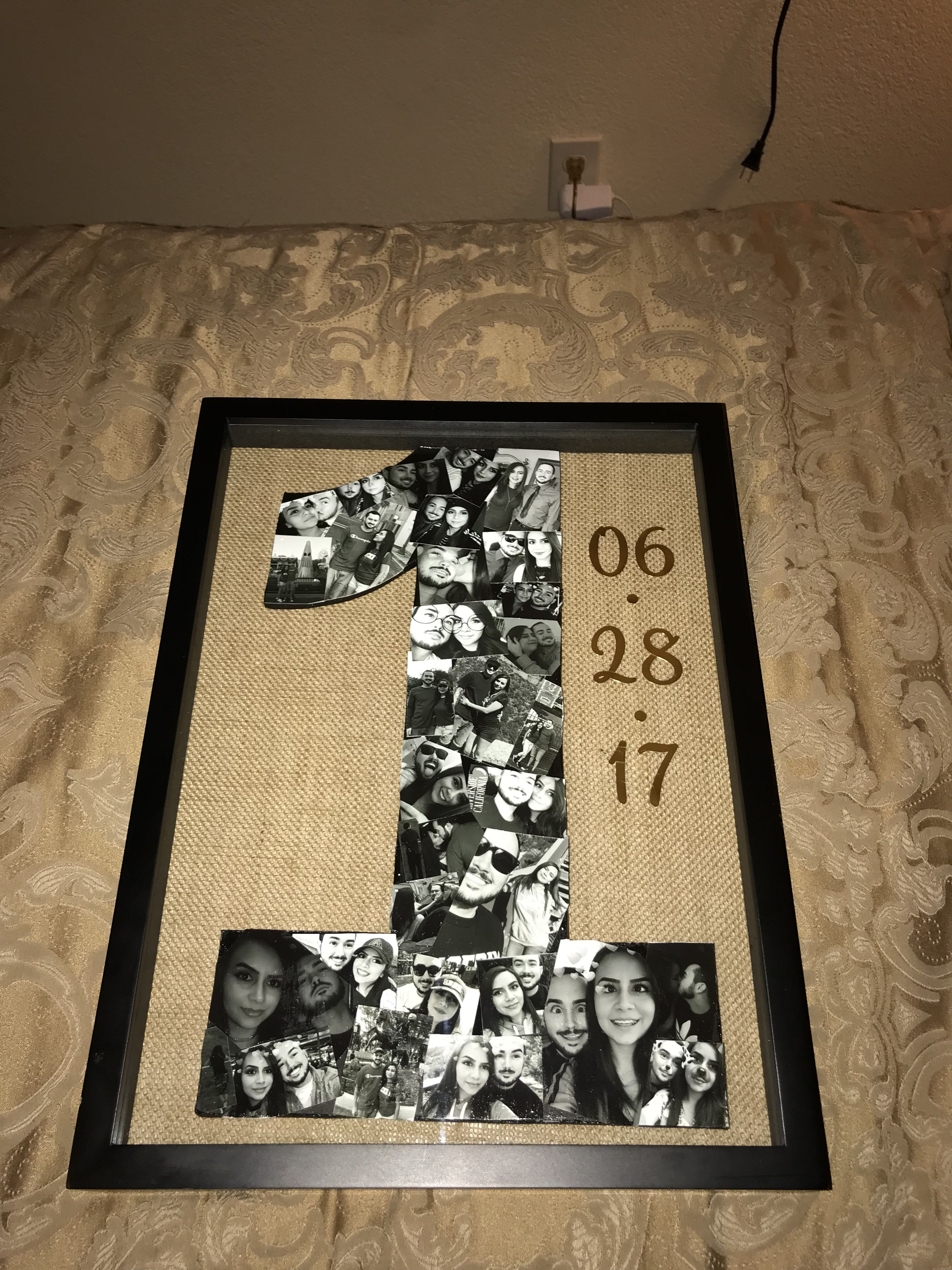 Diy Anniversary Gift I Made For My Boyfriend For Our One Year Diy Anniversary Gift Diy Gifts For Him Handmade Gifts Diy