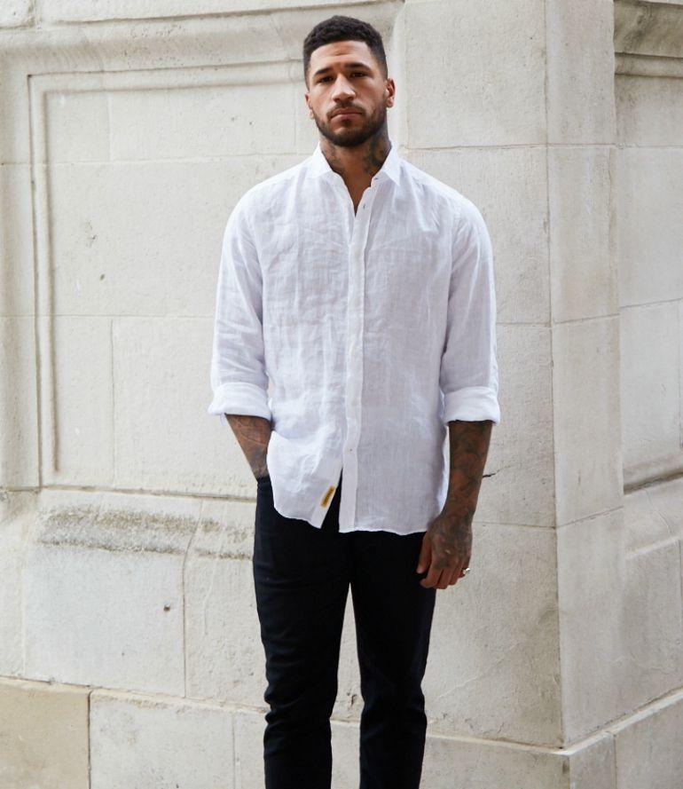 fdc04575ba5 white shirt black jeans mens street style