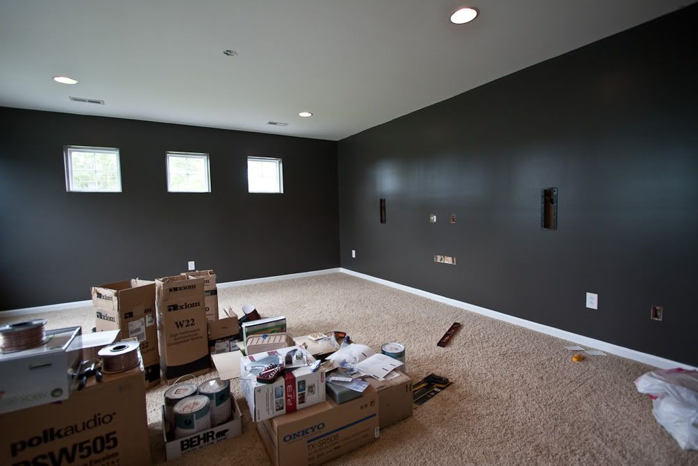 What color should i paint my home theater room google Home theater colors