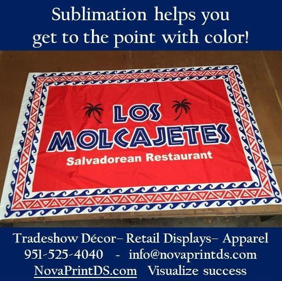 Sublimation lets the color send the message! #sublimation #Design #pantone #printing #apparel #exhibition #fabric #branding #NPDS