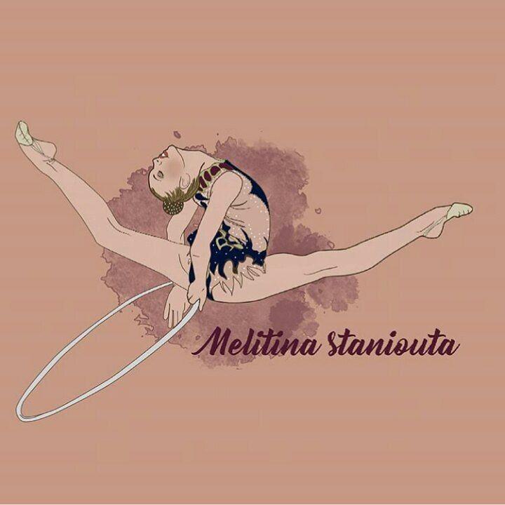 Pin de Awen Bree en Rhythmic gymnastics: illustrated | Pinterest ...