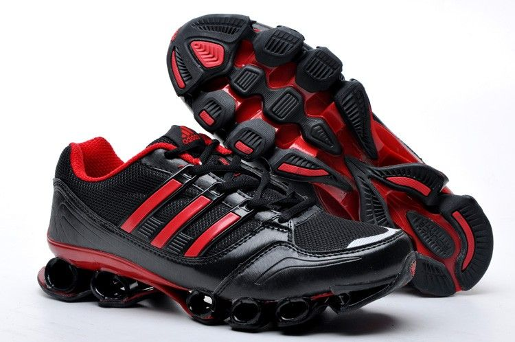 Adidas Bounce Titan Mens Black Red Silver Sport Running Shoes adidas bounce  titan Regular Price: