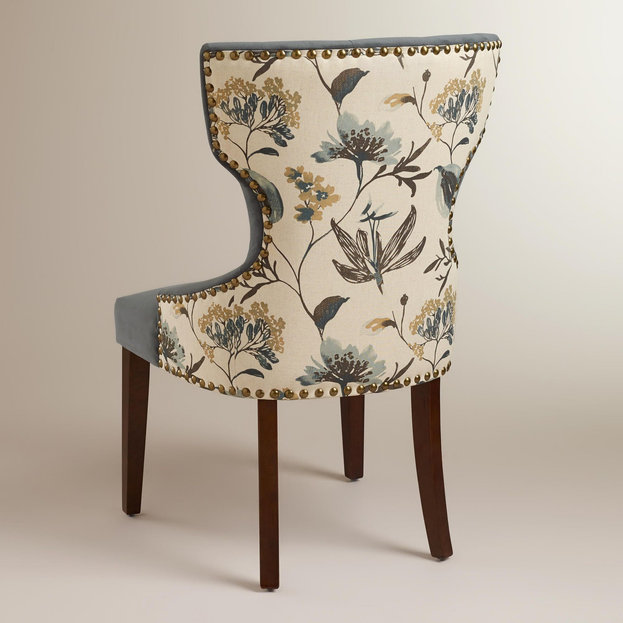 Atlantic Floral and Bird Maxine Dining Chair | Dining chairs ...