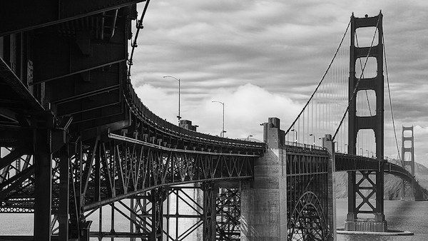 architecture photographer Paolo Tangari image of the golden gate bridge