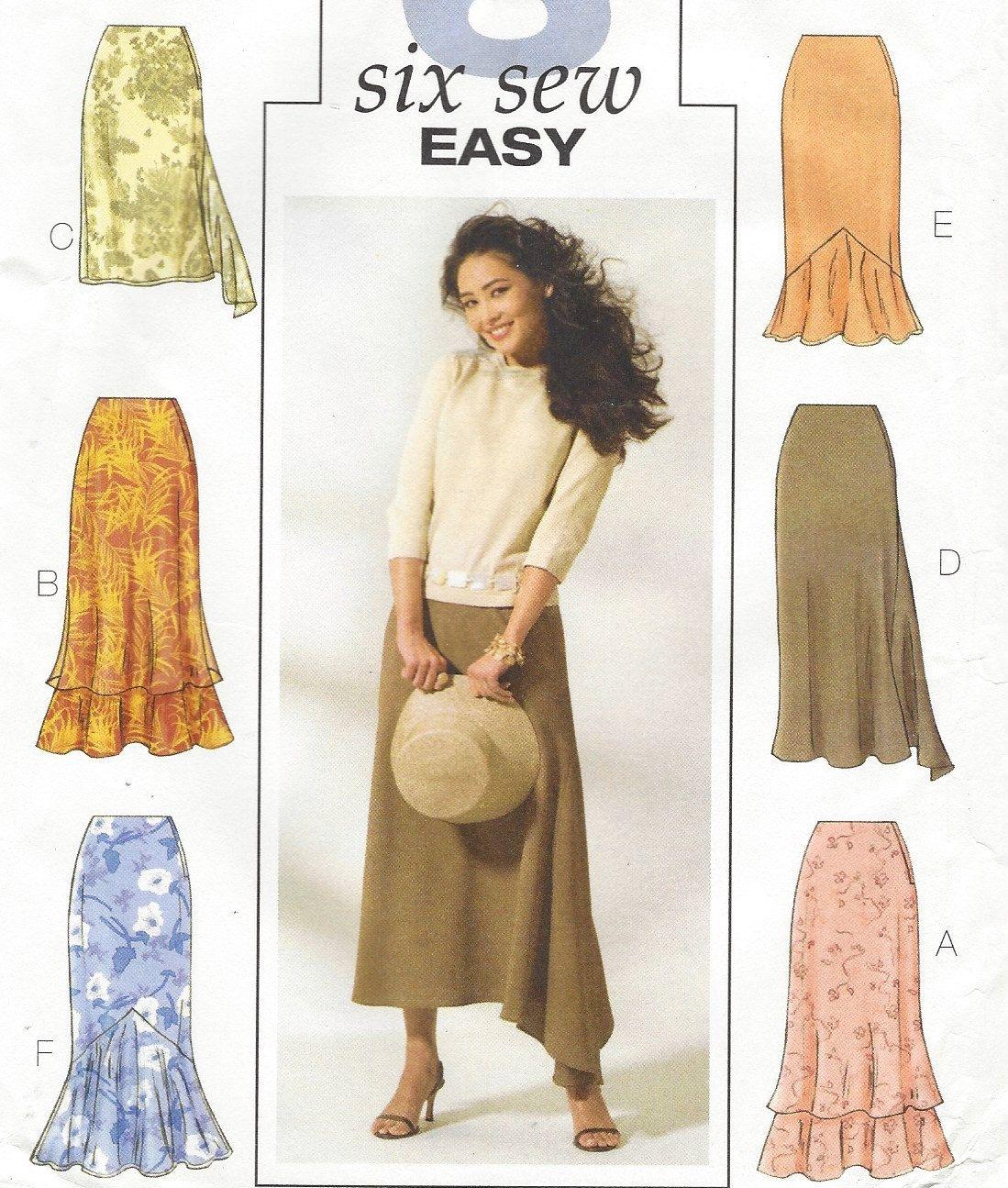 Plus Size Womens Skirts Trumpet Skirt Skirt with Godet Tulip Skirt ...