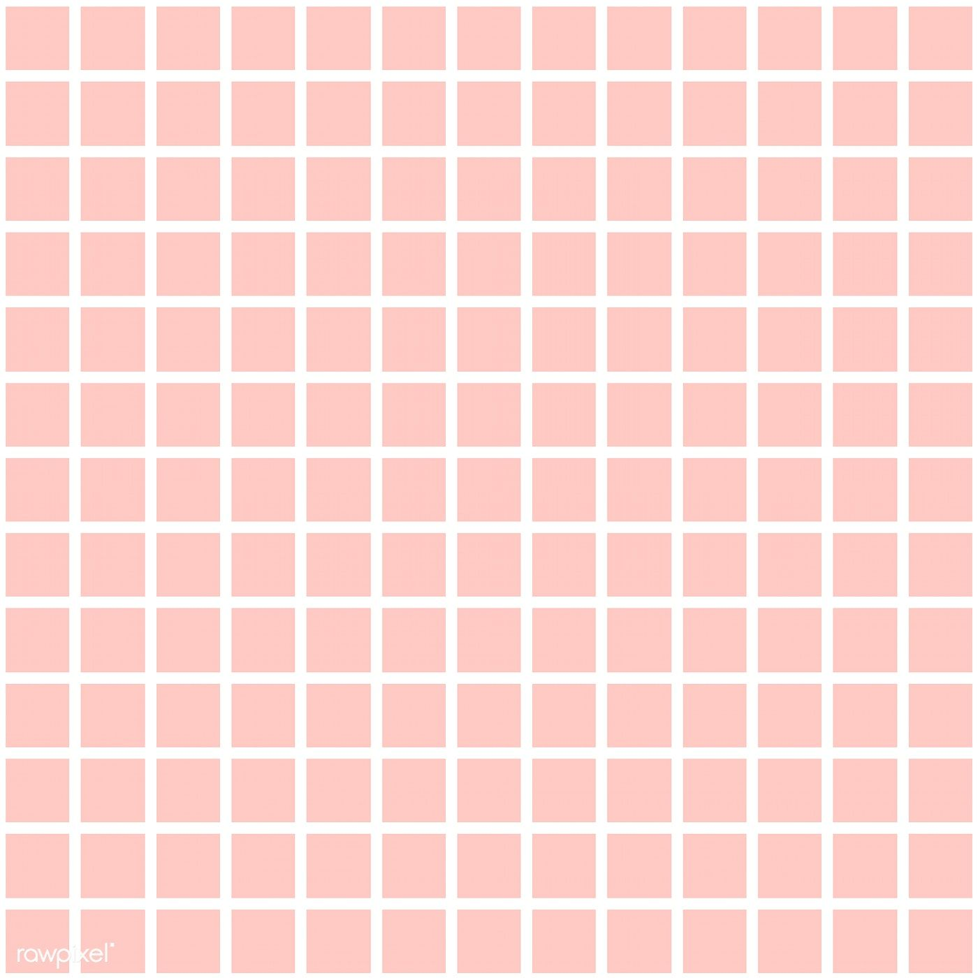 Pastel Pink Seamless Grid Pattern Vector Free Image By Rawpixel Com Filmful Pastel Pink Plain Pink Background Vector Free Aesthetic light pink grid wallpaper