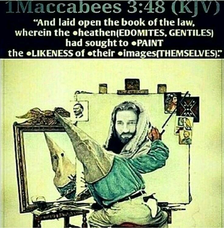 Httpwww Overlordsofchaos Comhtmlorigin Of The Word Jew Html: The Bible Is About BLACK People NOT White. Christ Is BLACK