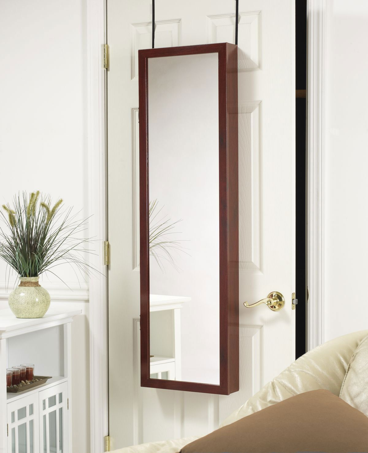 Over the door or wall mounted jewelry armoireorganize everything