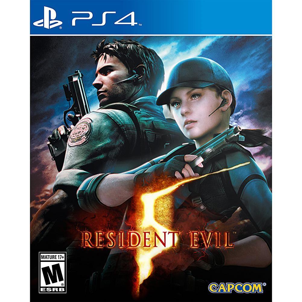 Resident Evil 5 PlayStation 4 Resident evil, Resident