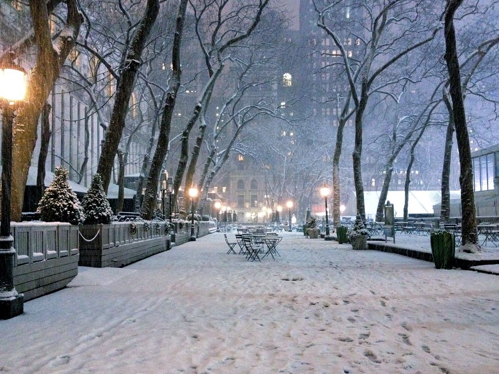 Bryant Park, New York City ) Favorite Places & Spaces